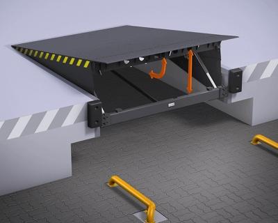 Уравнительные платформы с поворотной аппарелью ALUTECH SL