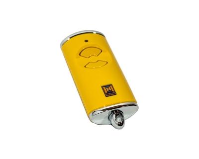 Пульт ДУ HSE 2 BS Желтый, для ворот и шлагбаумов